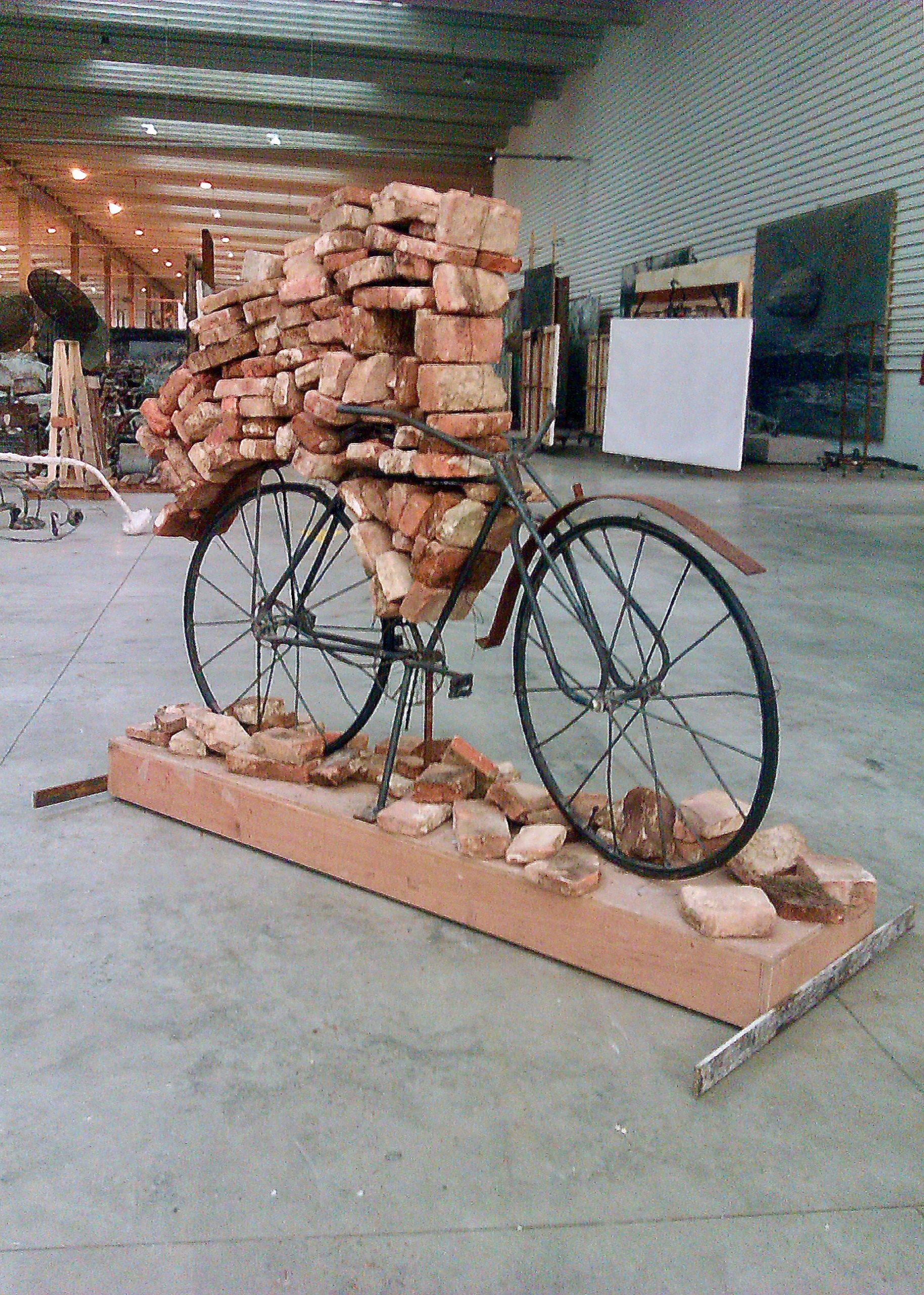sculpture pour Anselm Kiefer